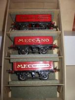 Set of 3 Hornby Meccano Wagons